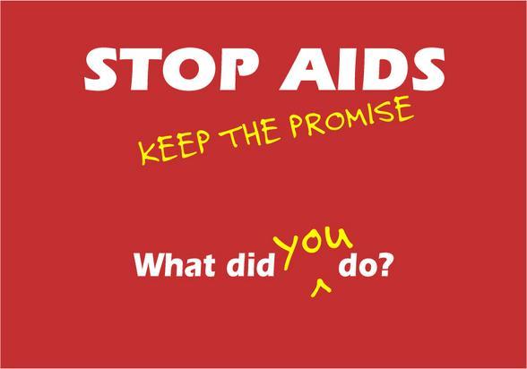 Stop aids! (gambar diambil dari videoanywhere.co.uk )