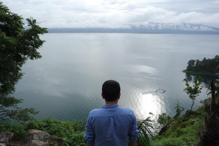 Pemandangan Danau Toba dari atas (taken with NX3000 )