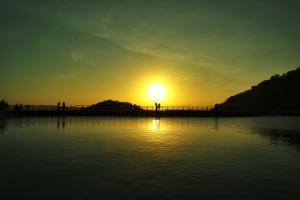 salah satu sunset terindah yang pernah saya lihat