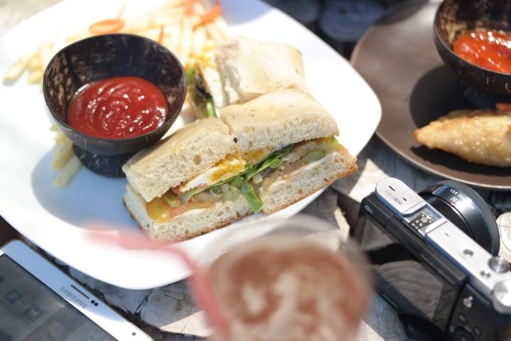 club sandwhich! yumm yummm