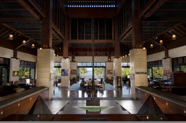 Lobby Conrad Bali Resor