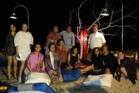 Media Dinner bersama para media dan tim dari Conrad Bali