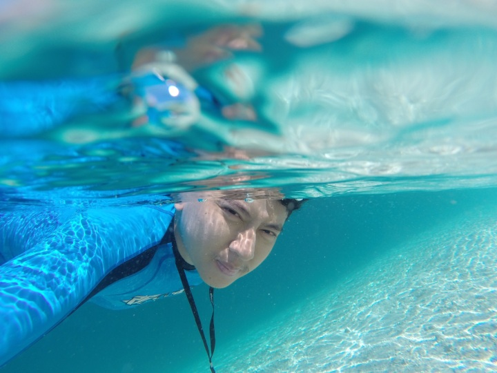 snorkeling bening di pulau kelor
