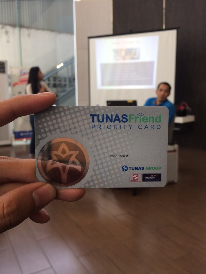 Tunas Friend Priority Card