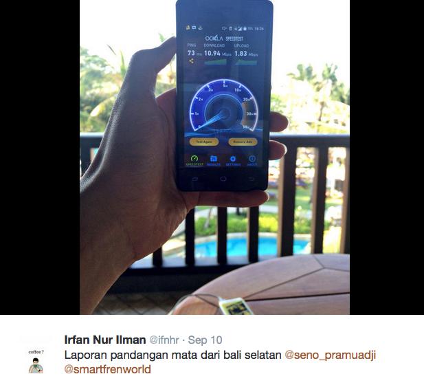speedtest 4g lte smartfren