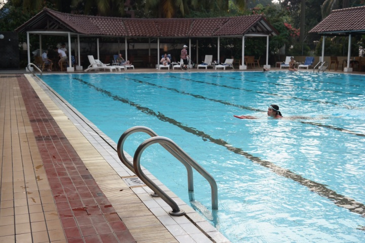 Swimming pool century park